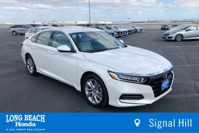 New 2019 Honda Accord Sedan LX 1.5T