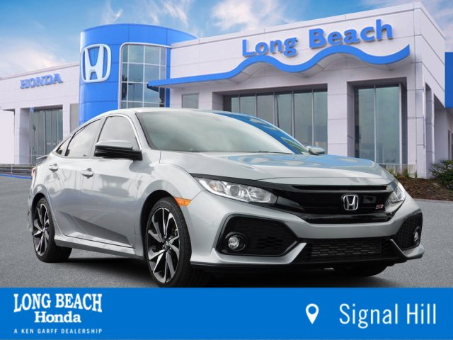 Honda Civic Si Used >> Certified Pre Owned 2018 Honda Civic Si Sedan Si 4dr Car In Signal
