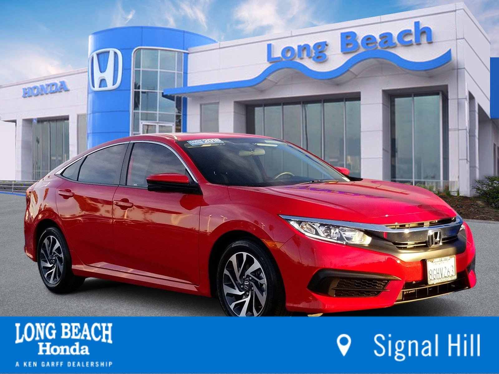Honda Civic Certified Pre Owned >> Certified Pre Owned 2018 Honda Civic Sedan Ex Fwd 4dr Car