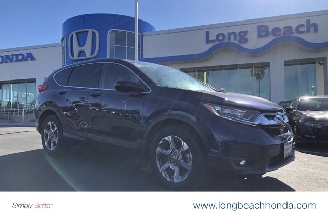 Certified Pre Owned 2017 Honda Cr V Ex Sport Utility In Signal Hill