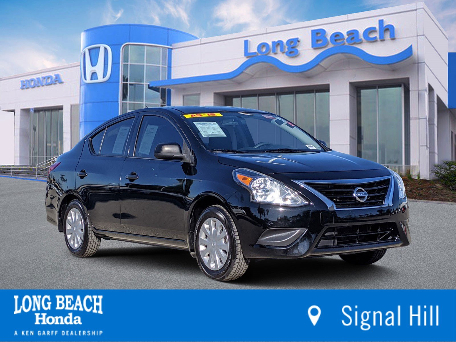 Pre-Owned 2015 Nissan Versa S