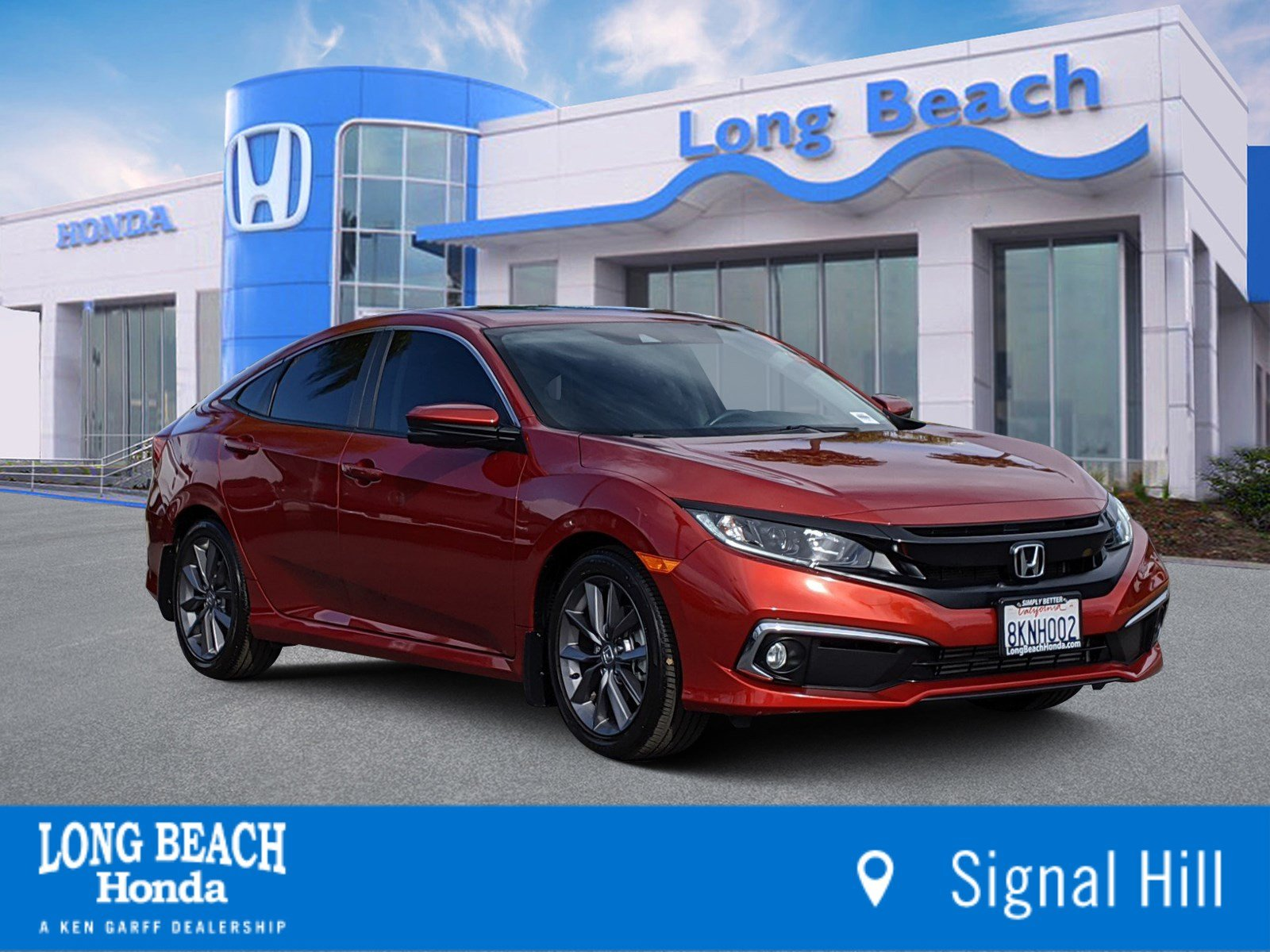 Certified Pre-Owned 2019 Honda Civic Sedan EX