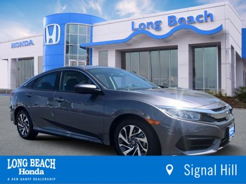 Pre Owned 2018 Honda Civic Sedan Ex