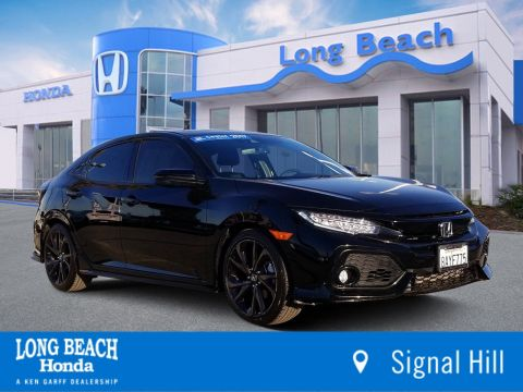 Certified Pre-Owned 2017 Honda Civic Hatchback Sport Touring